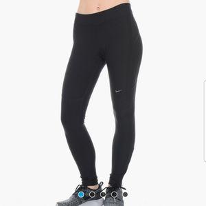 Nike dri fit running filament tights womens M